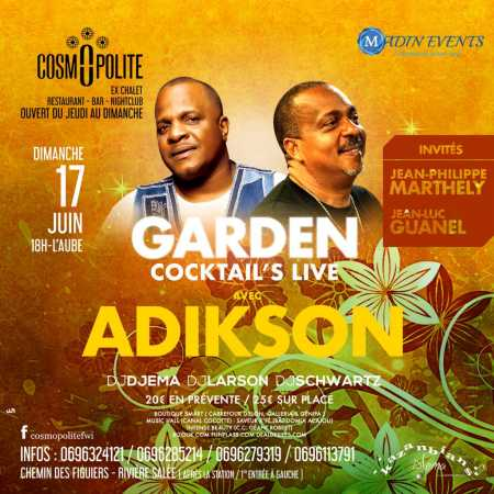 Garden cocktail live adikson