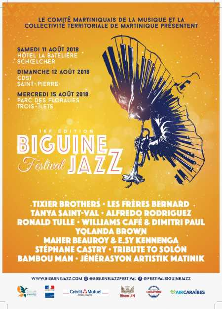 Biguine Jazz Festival 2018 (16ème édition), Before