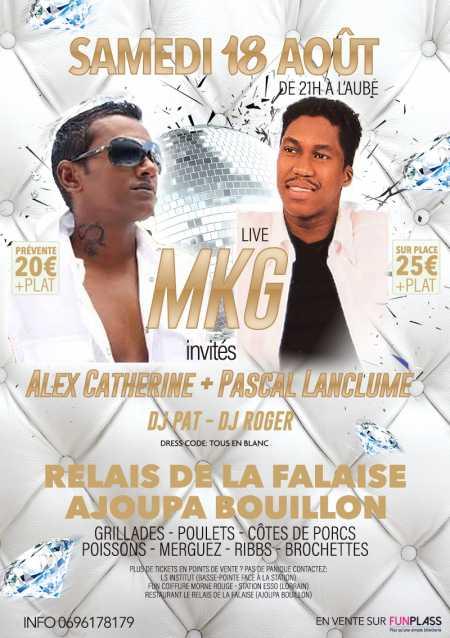 MKG, Alex Catherine, Pascal Lanclume