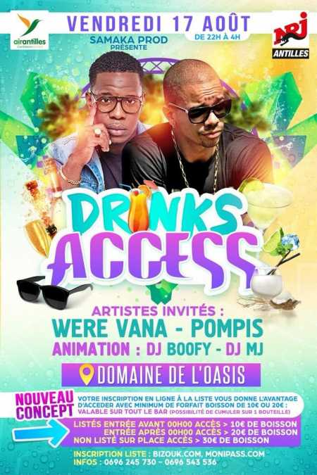 Were Vana, Pompis - Drinks access