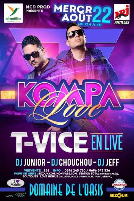 Kompa Love avec T-Vice