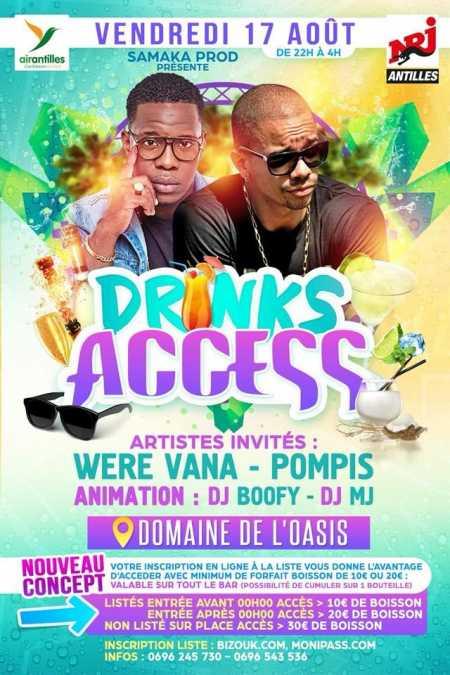 Were Vana, Pompis - Drinks access