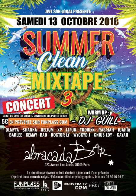 Concert Summer Clean Mixtape