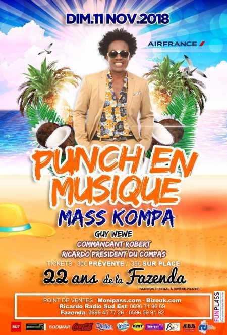 Punch en musique avec Mass Konpa et Zouzoul