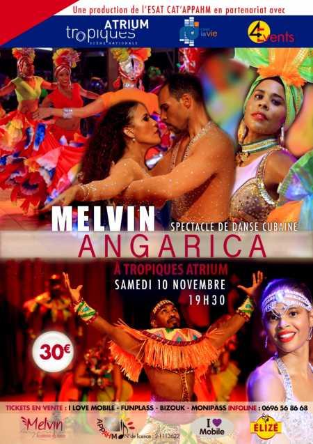 Melvin Angarica, spectacle de danse cubaine