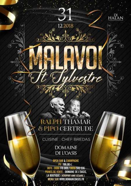 Malavoi, Ralph Thamar et Pipo Gertrude - St Sylvestre