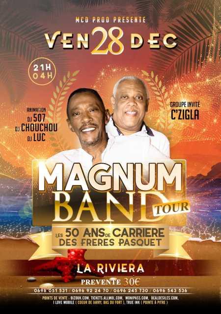 Magnum Band Tour en Guadeloupe