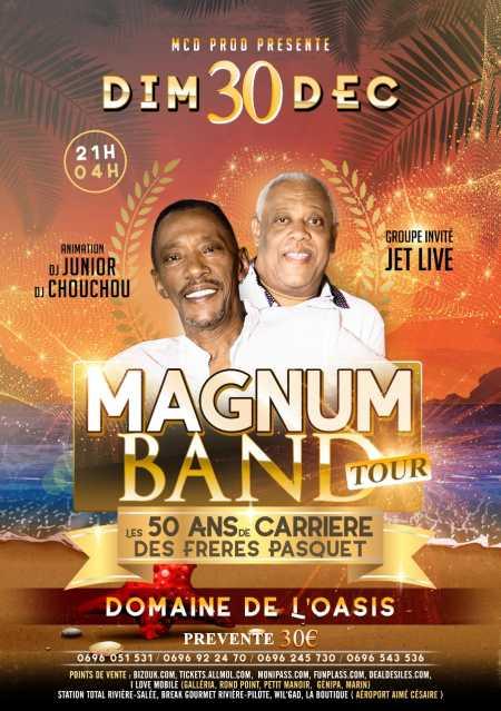 Magnum Band Tour passe à Trois-Îlets