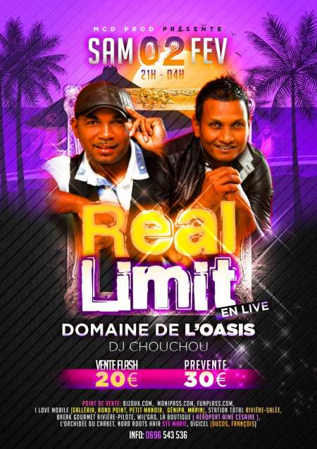 Real Limit en live