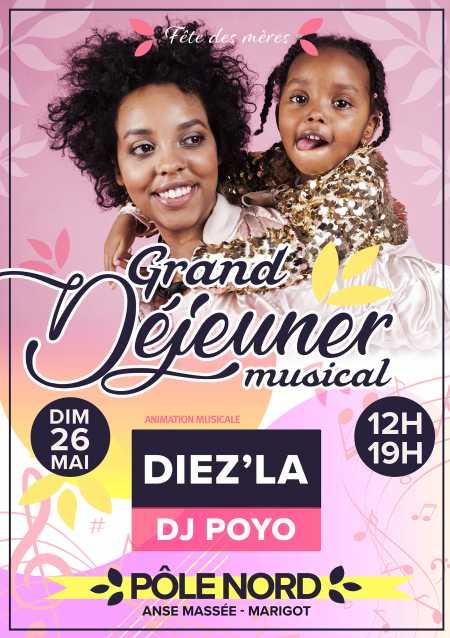 Grand déjeuner musical avec Diez'la et Dj Poyo