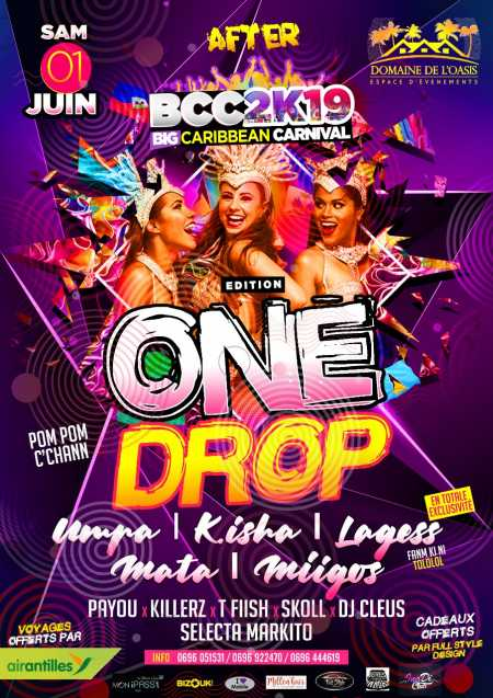 🇧🇧🇹🇹🇱🇨 After BCC2K19 édition one drop 🇫🇷🇭🇹🇯🇲