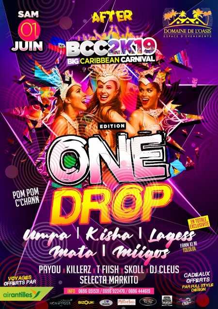 🇧🇧🇹🇹🇱🇨 After BCC2K19 édition one drop 🇫🇷🇭🇹🇯🇲