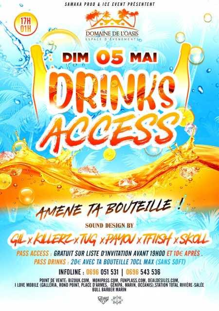Drinks access