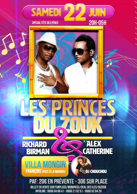 Les princes du Zouk, Alex Catherine et Richard Birman