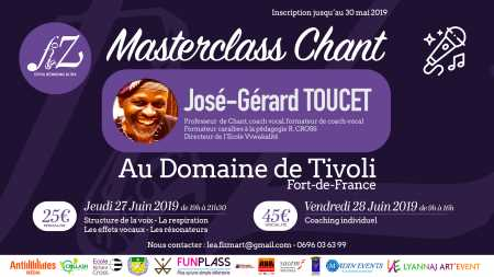 Coaching vocal avec José-Gérard Toucet