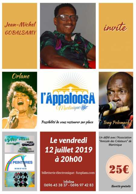 Jean-Michel Gobalsamy invite Orlane et Tony Polomack
