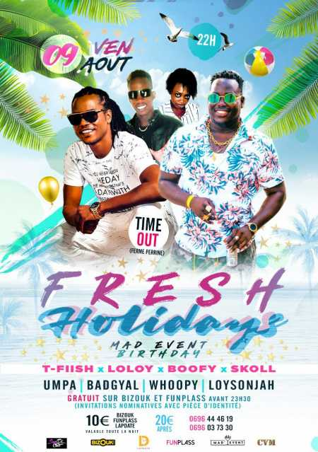 FRESH HOLIDAYS édition MAD'EVENT BIRTHDAY