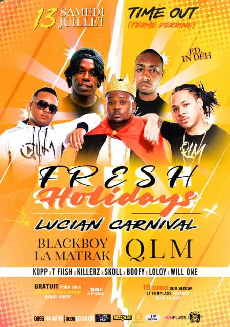 🏖Fresh Holidays édition IN DEH (Lucian Carnival)