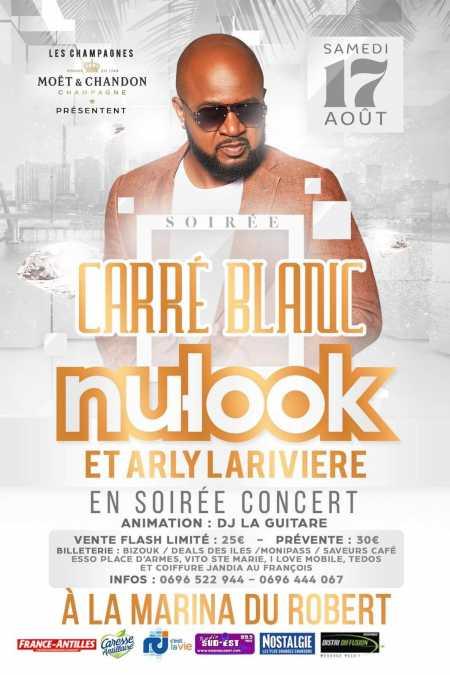 Nu-Look et Arly Lariviere en Martinique