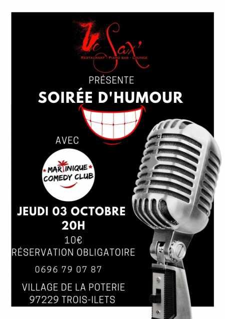 SOIRéE DHUMOUR avec Martinique Comedy Club