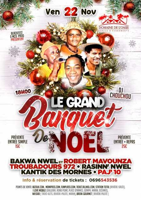 LE GRAND BANQUET DE NOEL💫 KANTIK FESTIVAL