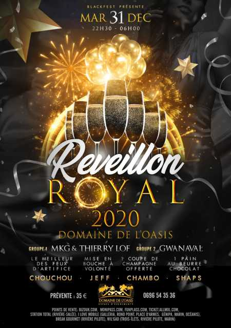 """ Réveillon Royal"""