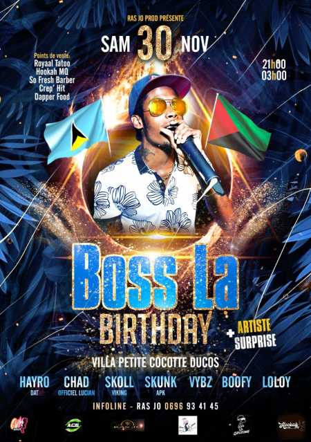BOSS LA BIRTHDAY