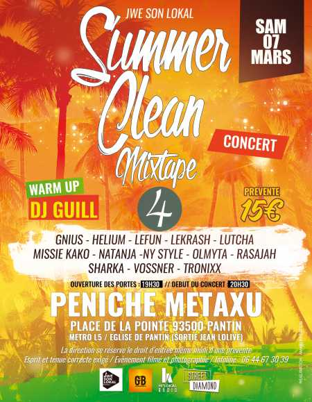 Concert Summer Clean Mixtape 2020